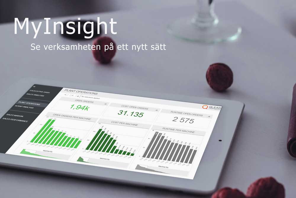 Qlear Mylnsight, en smart dashboard